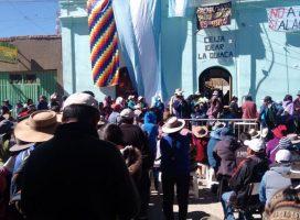 Indígenas en la Puna reclamaron contra las bases militares