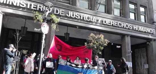 Concentración en Buenos Aires por la absolución de Moira Millán