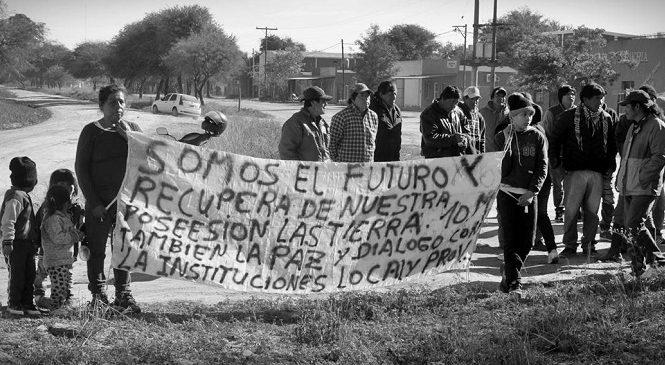 """Me tienen que matar, como mataron a Santiago, pero yo voy a defender a mi comunidad"""