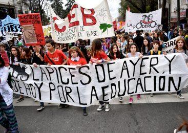 La Plata: los lápices siguen escribiendo