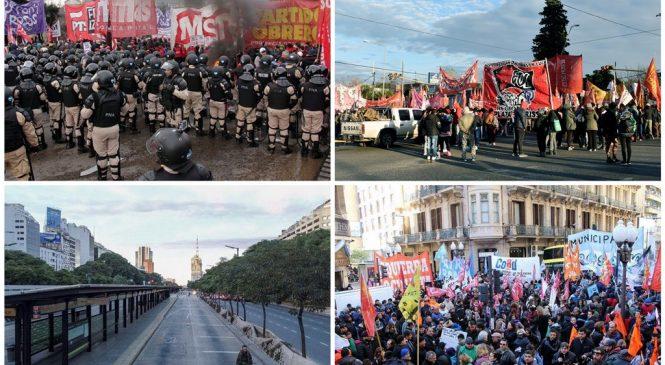 24 y 25: movilizaciones, protestas y paros