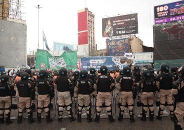 La CTA Autónoma denuncia la militarización del Puente Pueyrredón
