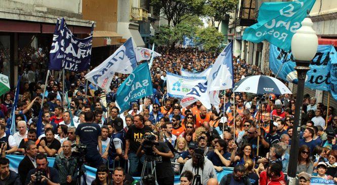 Rosario fue otra vez la capital nacional del paro