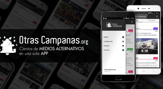 """""""Otras Campanas"""": la app para seguir medios alternativos"""