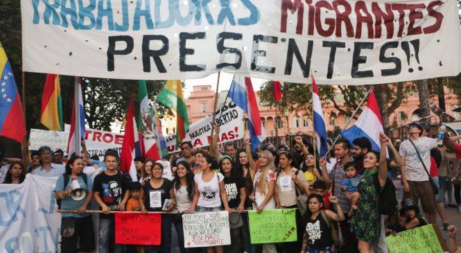 Paro migrante contra la xenofobia y la precarización laboral