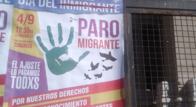 """2do Paro Migrante: """"Queremos mostrar nuestro aporte al país que decidimos habitar"""""""