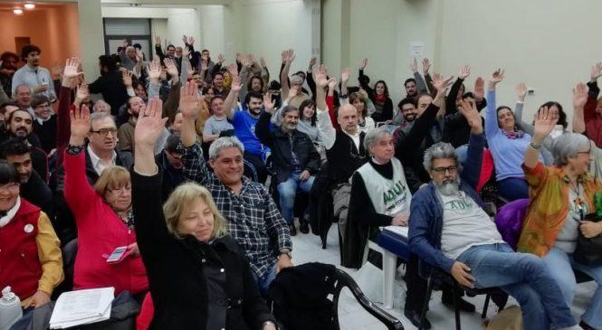 CONADU Histórica ratificó rechazo a la propuesta del gobierno y sigue su plan de lucha