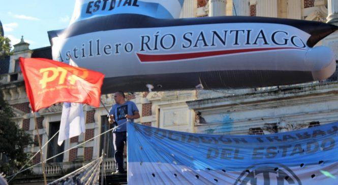 Un paso más para los trabajadores del Astillero Río Santiago