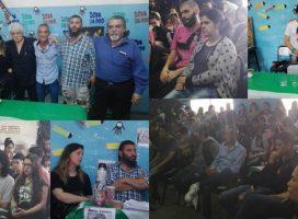 """Más de un centenar de pibxs de la escuela """"Juana Azurduy"""" debatieron con luchadores de Derechos Humanos"""