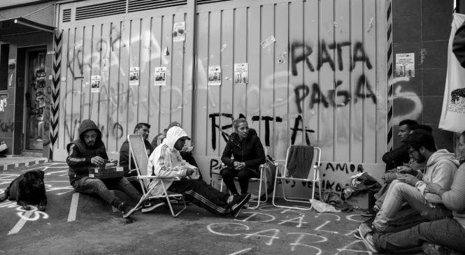 Gaelle: Asamblea abierta en puerta de fábrica