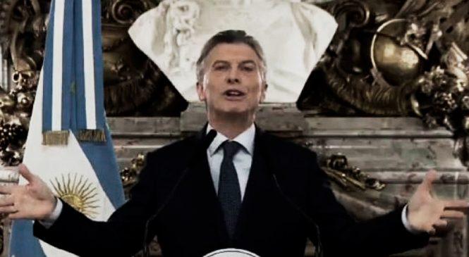Macri habla de crisis: Crisis es la que vive la clase obrera y el pueblo trabajador