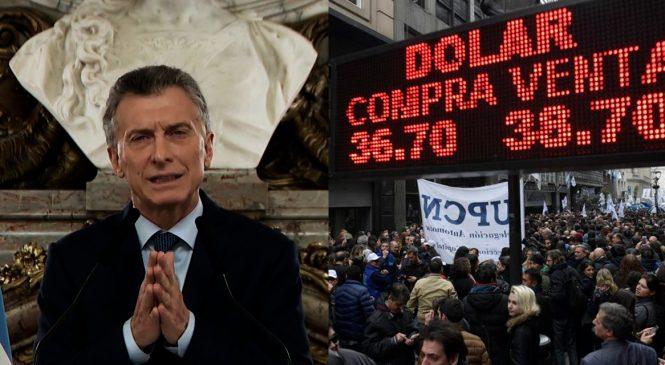 Macri relanzó su gobierno anunciando más ajuste y el peso sigue perdiendo valor