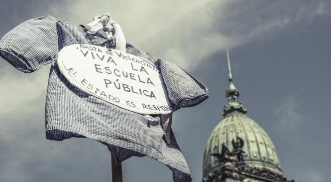Fotogalería: Marcha docente por presupuesto educativo