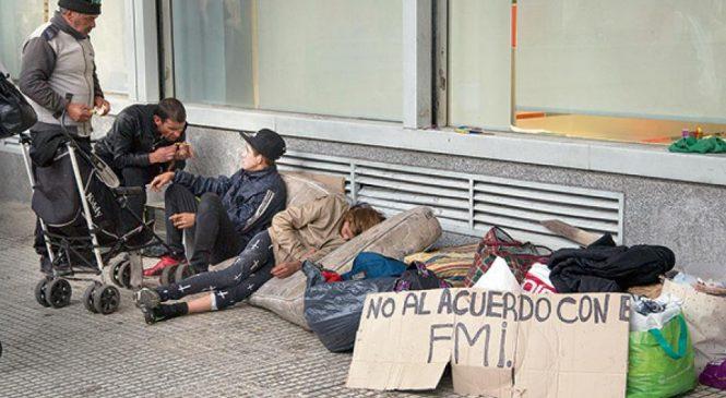 Indec aceptó aumento de pobreza al 27,3 en el primer semestre