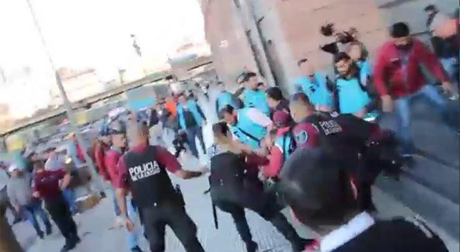 Policía de la Ciudad detiene a Grabois y referentes de la CTEP por reclamar liberación de trabajadores senegaleses