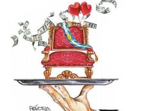 Macri y Lagarde: un amor no correspondido
