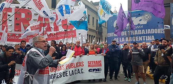 """""""El Sindicato es el eje estratégico para la defensa de los trabajadores y trabajadoras contra el ajuste"""""""