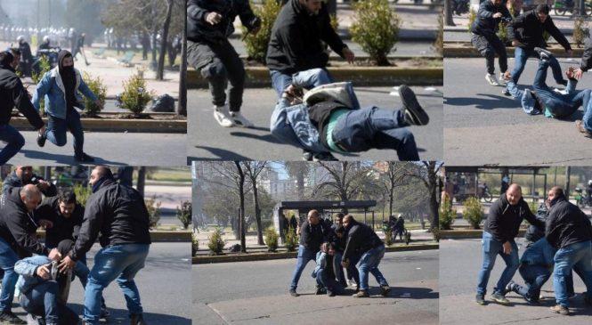 La Plata: represión y hostigamiento policial en la marcha y en el barrio
