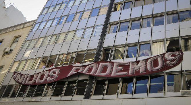 Volvieron a ocupar el Sindicato de Comercio para denunciar el fraude de Cavalieri