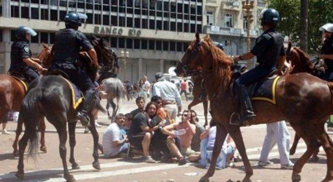 Represión 2001: era policía, disparó balas de plomo y será sobreseído