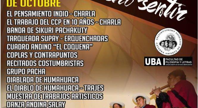 """Presentación del Centro Cultural """"Pachamama"""" en Buenos Aires"""