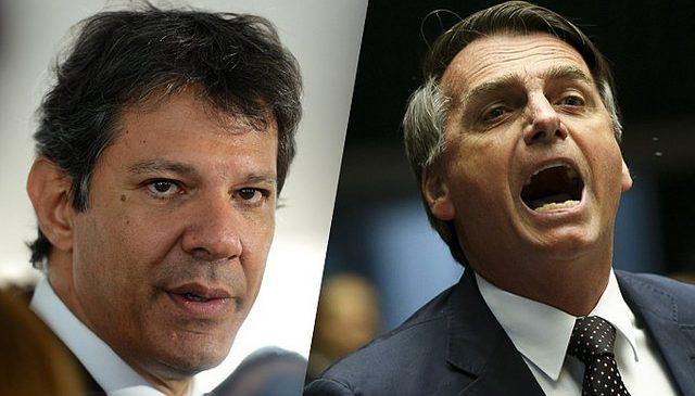 Brasil: Bolsonaro y Haddad van a segunda vuelta