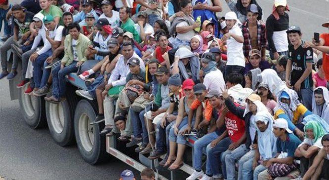 ONU: 7.000 personas conforman caravana de migrantes centroamericanos
