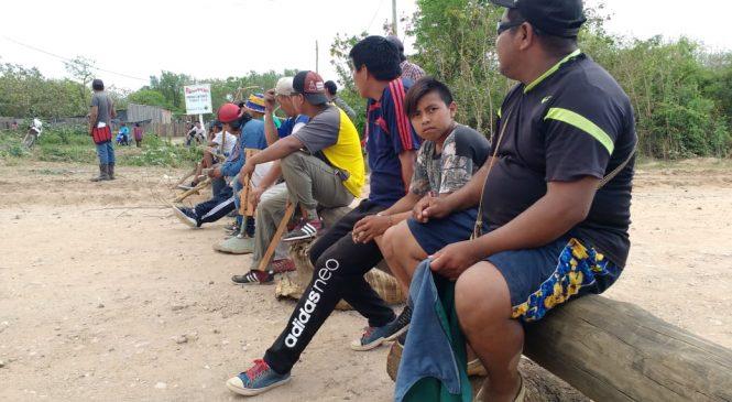 Salta: caciques wichis cortan la ruta exigiendo agua