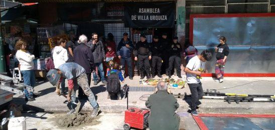 CABA: Policía Federal intenta desalojar la Asamblea de Villa Urquiza