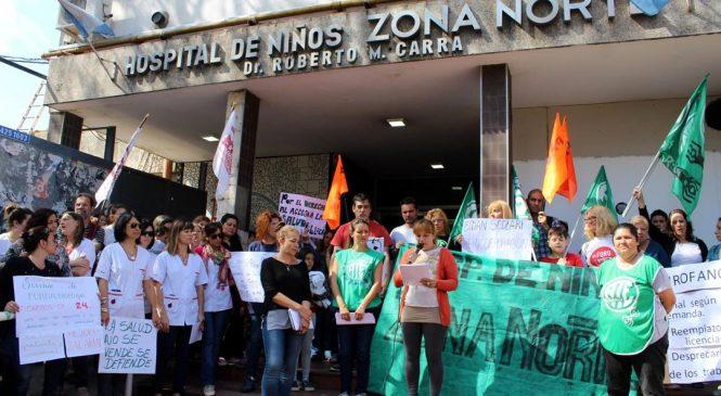 Grito en defensa de la salud pública: abrazo al Hospital de Niños Zona Norte de Rosario