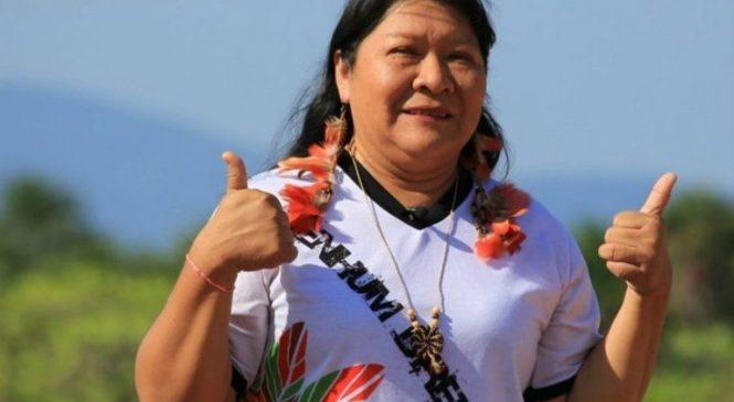 Joenia Wapichana será la primera diputada indígena de Brasil