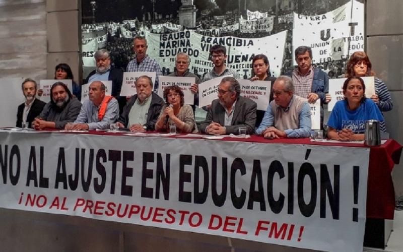 """Presupuesto 2019: """"Se pone en riesgo la subsistencia del sistema educativo"""" - Indymedia Argentina Centro de Medios Independientes (( i ))"""