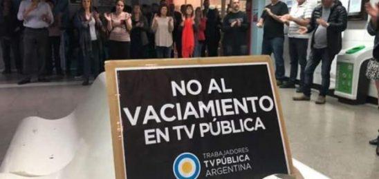 Papelón en la TV Pública: Interna entre gerentes profundiza la censura informativa