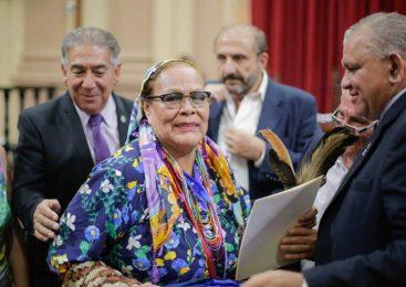 """Octorina Zamora fue reconocida en la Legislatura de Salta y denuncia una """"brutal embestida del gobierno"""""""
