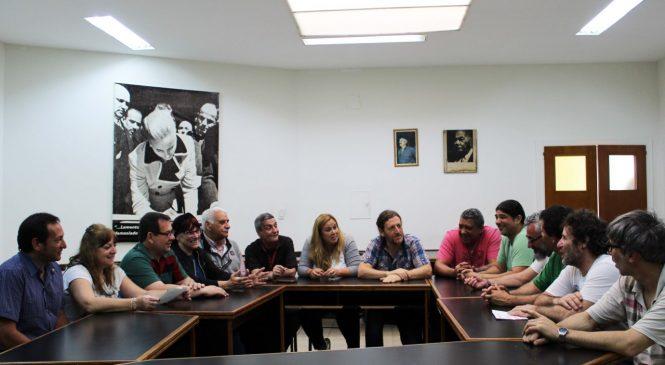Ante la causa penal, secretariado de ATE respaldó a De Isasi y Banegas