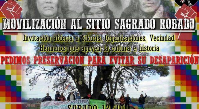 Movilización al sitio arqueológico Tres Ombúes en La Matanza