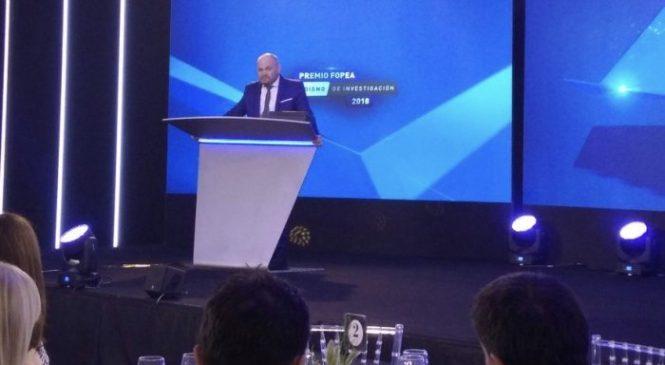 FOPEA premió a Claudio Andrade: El crimen sí paga