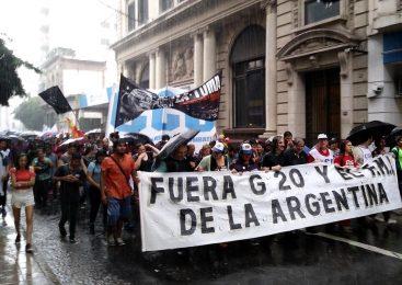 Gran marcha en Rosario contra el G20