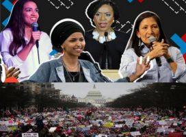 Trump enfrenta la victoria de mujeres latinas, indígenas, musulmanas y LGTB
