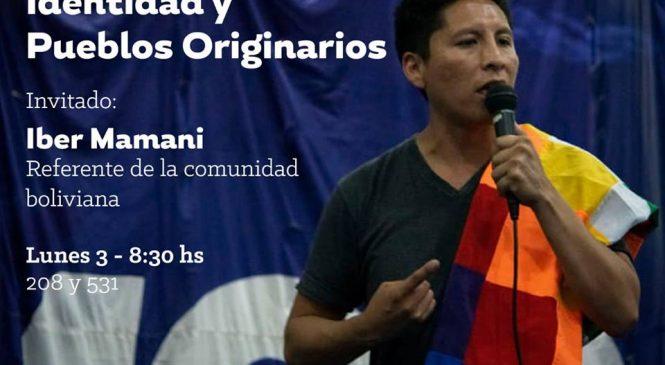 Identidad y Pueblos Originarios: charla de Iber Mamani en La Plata