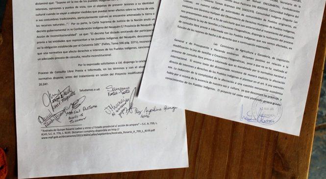 Un conjunto de organizaciones indígenas del país le decimos No a la ley de semillas de Bayer/Monsanto