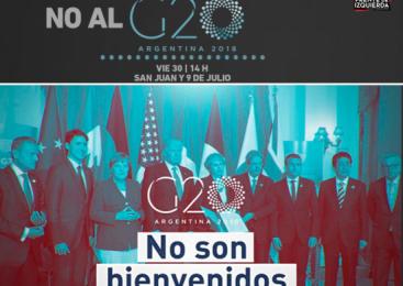 El Frente de Izquierda repudia la cumbre del G20 y se moviliza el viernes