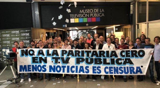TV Pública: Sin noticias, producción propia ni derechos laborales