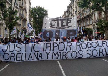 """Justicia por Orellana y Soria: """"Parece que no existe el Estado de derecho para los militantes populares"""""""