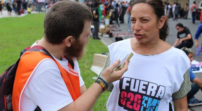 """""""El G20 y el FMI no tienen nada bueno para nosotros"""""""