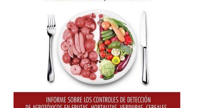 82 agrotóxicos diferentes en 38 frutas y verduras