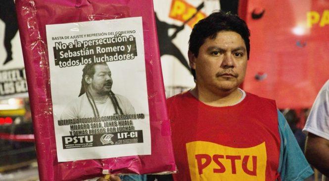 Visita del Encuentro Memoria Verdad y Justicia al compañero del PSTU Daniel Ruiz