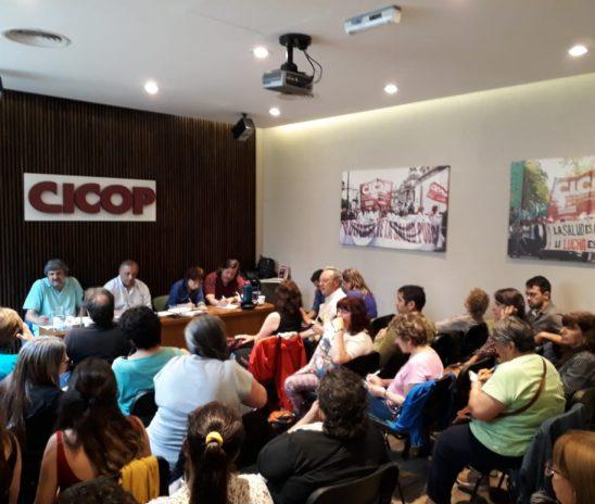 Por amplia mayoría CICOP aceptó la propuesta paritaria