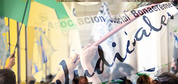 Asambleas de la AJB contra el recorte salarial por decreto
