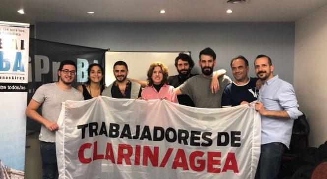 """Lucha salarial en Clarín: """"La participación de la mayoría nos da fuerza para negociar"""""""